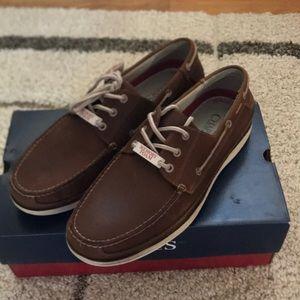 👞men chaps boat shoes NWT 👞